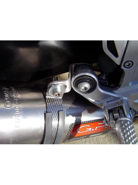 ORIGINAL GPR EXHAUST FOR HONDA CBR 1000 RR 2008/11 HOMOLOGATED SLIP-ON EXHAUST  FURORE NERO