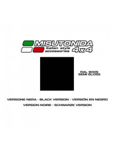 BIG BAR RACING MISUTONIDA MITSUBISHI L200 TDI DC CC 1997/01 BLACK