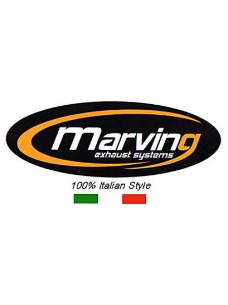 COPPIA SCARICO OMOLOGATO MARVING MARMITTA DUCATI ST4/ST4S OVALE PICCOLO SUPERLINE ALLUMINIO