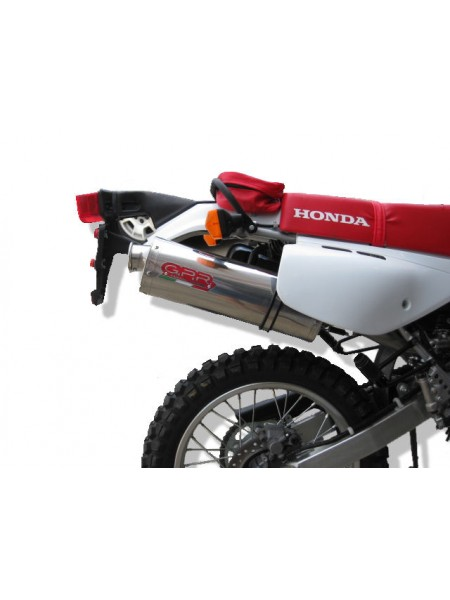 PROMO ORIGINAL GPR EXHAUST FOR HONDA XR 600 R 1988-1990  HOMOLOGATED SLIP-ON EXHAUST  TRIOVAL